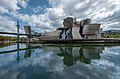 Guggenheim Museum seen from across the estuary, Bilbao, Spain (PPL3-Altered) julesvernex2.jpg