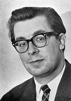 Gunnar E. Sandgren omkring 1960.