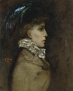 Gustave Doré - Sarah Bernhardt, 1870