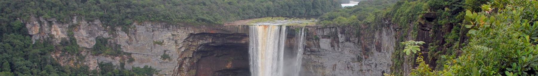 Kaieteur Falls on Potaro River in central Guyana