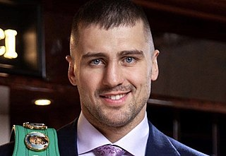 Oleksandr Gvozdyk Ukrainian boxer