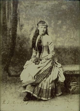 Princess Hélène of Orléans - Hélène d'Orléans as a young girl (1885)