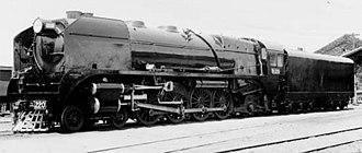 Victorian Railways H class - Builder's photograph of H220, 1941