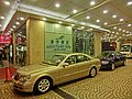 HK 灣仔 Wan Chai 霎西街 Sharp Street West night 南洋酒店 South Pacific Hotel carpark Nov-2013 Mercedes-Benz.jpg
