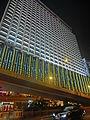 HK CWB 記利佐治街 Great George Street night Park Lane Hotel facade Dec-2013.JPG