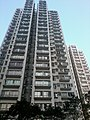 HK Tai Po Plaza 大埔廣場 mall view Tai Po Centre residential building facade Jan-2013.jpg