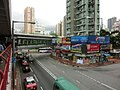 HK Tsuen Wan 西樓角路 100 Sai Lau Kok Road 昌樂大廈 Cheong Lok Mansion May-2013 荃灣行人天橋網絡 footbridge 01.JPG