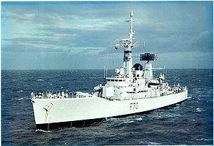 Leander-class frigate - Image: HMS Apollo 1976 SMB 2008