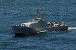 HMS Argyll (F231) with Senegalese patrol vessel in 2013 cropped.jpg
