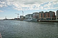 HMS Tyne moored in the River Liffey 3.jpg