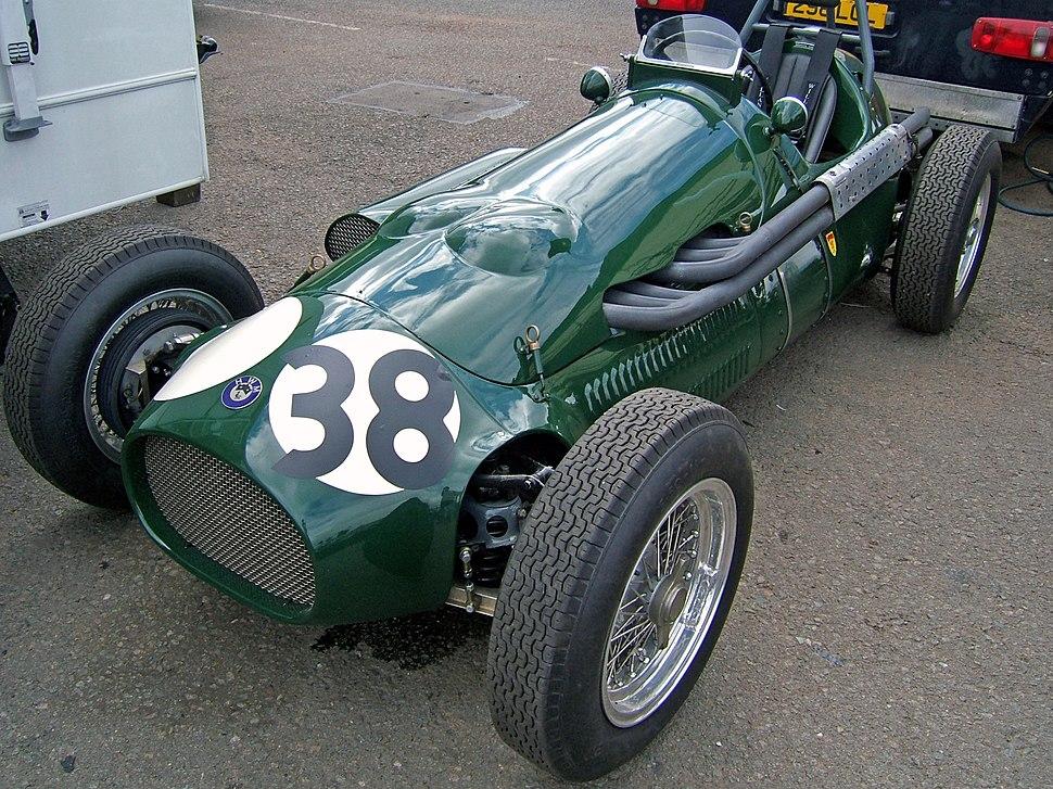 HWM 1952 car Donington 2007