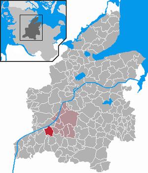 Haale, Germany - Image: Haale in RD