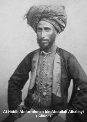 Ali Kwitang - Habib Abdurahman bin Abdullah Al-Habsyi, father of Habib Ali Kwitang
