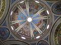 Haifa, Stella Maris Monastery, church ceiling.JPG