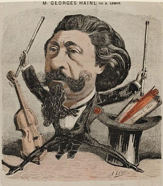 François George-Hainl - George-Hainl by Achille Lemot