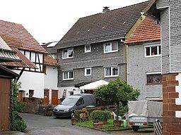 Hainstraße in Burgwald