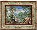 Hans bol, pesaggio con scena di caccia, 1585.JPG
