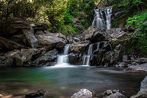 Hanumangundi Falls - Hanuman Gundi Falls (Chikamagalur)