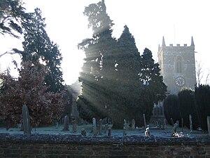 Hardingstone - The Church in winter