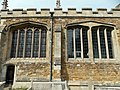 Harlaxton Ss Mary and Peter - exterior South Chapel Tudor windows.jpg