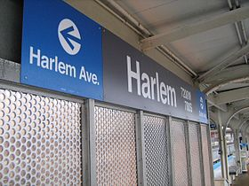 Image illustrative de l'article Harlem (ligne bleue sud CTA)