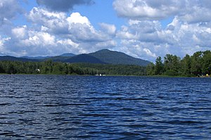 Essex County, New York - Harris Lake in Newcomb