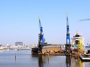 Delfzijl - Port of Delfzijl in 2011