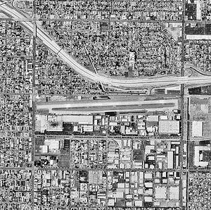 Hawthorne Municipal Airport (California) - 1994 USGS Photo