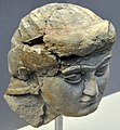 Head of a female worshiper from the Temple of Ishtar at Nineveh, Iraq. 700-625 BCE. British Museum, London.jpg