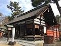 Heiden of Daikai Shrine in Sumiyoshi Grand Shrine 2.jpg