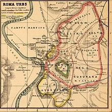 Colli Di Roma Cartina.Roma Citta Antica Wikipedia