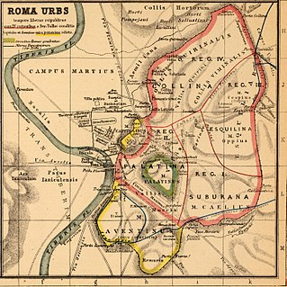Pomerium Religious boundary around the city of Rome and cities controlled by Rome