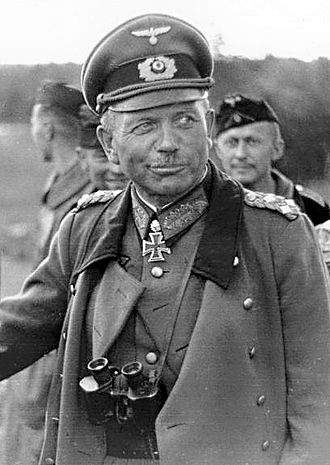 Heinz Guderian - Heinz Guderian on the Eastern Front, July 1941