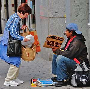 Altruism - Helping the homeless in New York City
