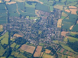 Henfield from the air