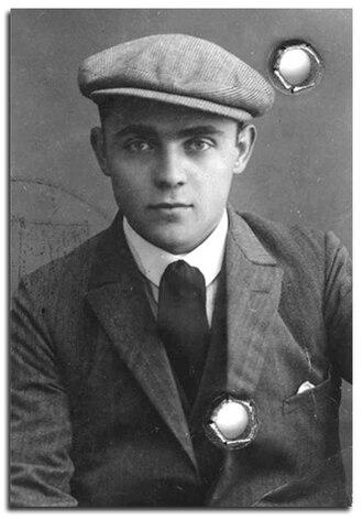 Henri Max Corwin - Henri Max Corwin (Cohen) in his twenties.