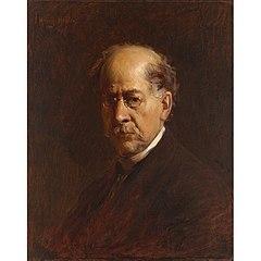 Henry Mosler Self-portrait