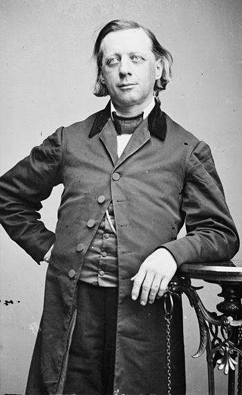 Henry Ward Beecher. Library of Congress descri...