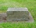 Henry Wehrung gravestone - Hillsboro, Oregon.JPG
