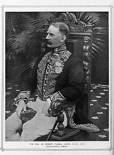 Herbert Thirkell White British administrator in Burma