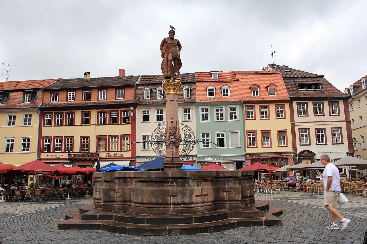 File herkulesbrunnen heidelberg baden wurttemberg germany wikimedia commons - Mobelhauser baden wurttemberg ...