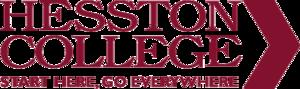Hesston College - Image: Hesston College Nameplate