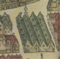 Het tapissierspand te Antwerpen (Detail uit het stadsplan van Virgilius Bononiensis, ca 1565).PNG