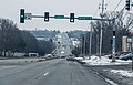 Hickman Road Clive Iowa Traffic Signal Green Light (US Route 6) - Clive, Iowa (24937144242).jpg