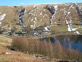 High Tove mountain in United Kingdom