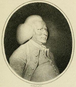 William Shipley - Engraved portrait of William Shipley (William Hincks, late 18c.).