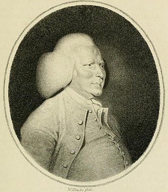 William Shipley - Engraved portrait of William Shipley (William Hincks, late 18c.).