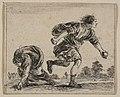 Hippomenes and Atalanta, from 'Game of Mythology' (Jeu de la Mythologie) MET DP817722.jpg