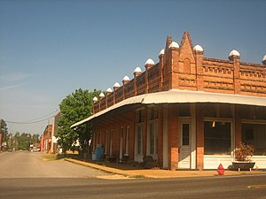 Lewisville, Arkansas - Image: Historic building in Lewisville, AR IMG 1465