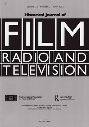 Historical Journal of Film, Radio and Television - Image: Historical journal of film, radio and television 2012, no. 2